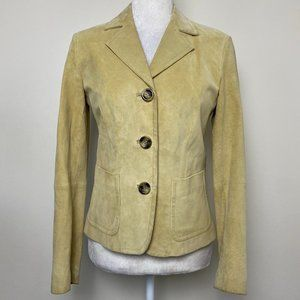 Max Mara Weekend Faux Suede Jacket